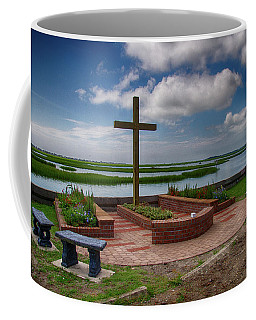 Coffee Mug featuring the photograph New Garden Cross At Belin Umc by Bill Barber