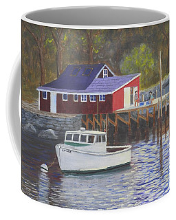 New Harbor Sunrise Coffee Mug