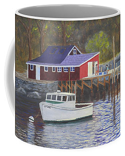 New Harbor Sunrise Coffee Mug