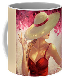 New Hat Coffee Mug by Michael Rock