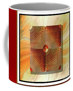 Coffee Mug featuring the digital art New Ideas #2 by Iris Gelbart