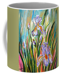 New Irises Coffee Mug
