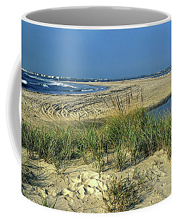 New Jersey Inlet  Coffee Mug by Sally Weigand