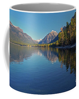 New Lake Mcdonald In September Coffee Mug by Cindy Murphy - NightVisions