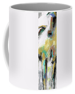 Coffee Mug featuring the painting New Mexico Horse 4 by Frances Marino