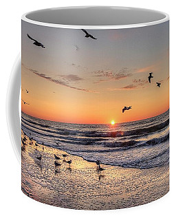 New Moon Birds Coffee Mug