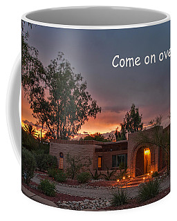 Coffee Mug featuring the photograph New Neighbors Card by Dan McManus