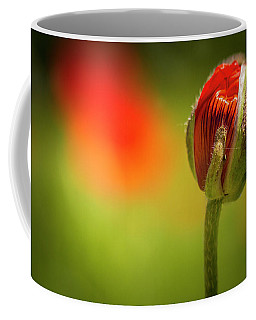 New Orange Poppy Bloom Coffee Mug
