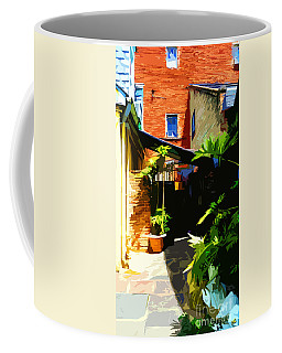 New Orleans Back Door Coffee Mug