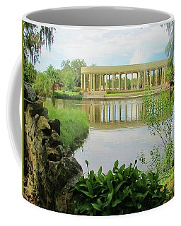 New Orleans City Park Peristyle From Goldfish Island Coffee Mug by Deborah Lacoste