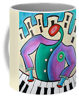 New Orleans Cool Jazz Piano Coffee Mug