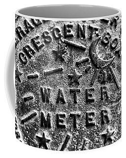 New Orleans Crescent Box Water Meter Coffee Mug