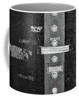 New Orleans Doorbells Coffee Mug by Kathleen K Parker