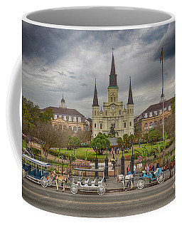 New Orleans Jackson Square Coffee Mug