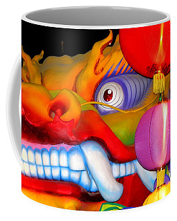 New Orleans Mardi Gras Float Orpheus Lundi Gras Coffee Mug by Michael Hoard
