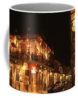 New Orleans Jazz Night Coffee Mug by Art America Gallery Peter Potter