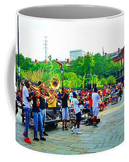 New Orleans Street Band Coffee Mug