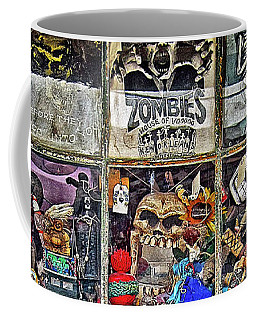 New Orleans Voodoo Shop Reverend Zombie Coffee Mug by Rebecca Korpita