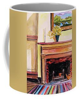 New Painting Over The Mantel Coffee Mug