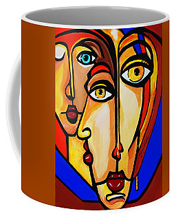 New Picasso By Nora Friends Coffee Mug