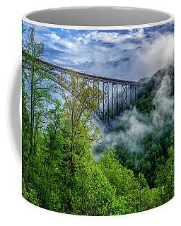 New River Gorge Bridge Morning  Coffee Mug