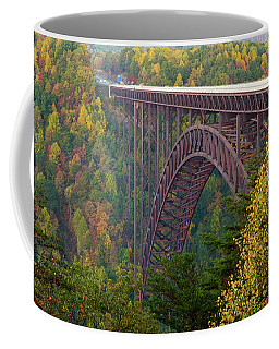 New River Gorge Bridge Coffee Mug by Steve Stuller