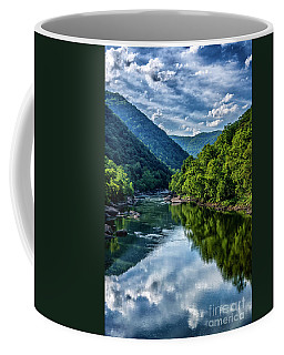 Coffee Mug featuring the photograph New River Gorge National River 3 by Thomas R Fletcher