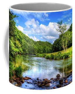 New River Summer Coffee Mug by Dale R Carlson