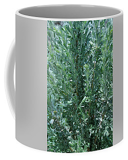 Coffee Mug featuring the photograph New Sage by Ron Cline