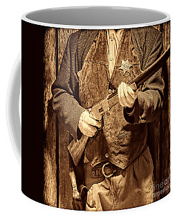 New Sheriff In Town Coffee Mug by American West Legend By Olivier Le Queinec
