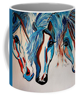Coffee Mug featuring the photograph New  The 3 Amigos by Nora Shepley
