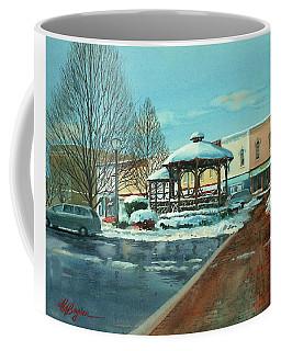 Triangle Park In Winter Coffee Mug