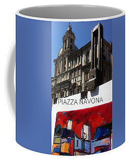 new work Piazza Navona Coffee Mug