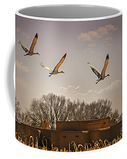 Flight Of The Cranes Coffee Mug