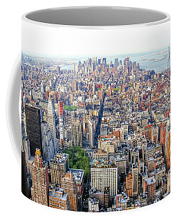 New York Aerial View Coffee Mug