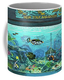New York Aquarium Towel Version Coffee Mug