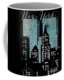 New York Art Deco Coffee Mug