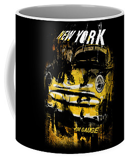 New York Cab Coffee Mug
