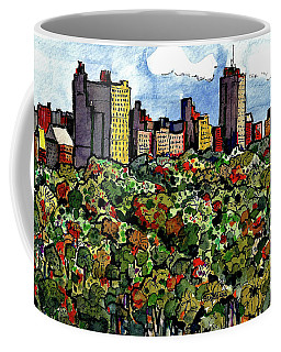 New York Central Park Coffee Mug by Terry Banderas