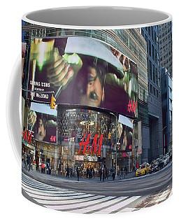 New York City - Broadway And 42nd St Coffee Mug