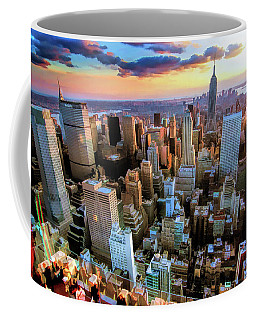 New York City Downtown Manhattan Coffee Mug
