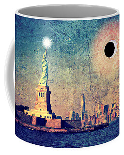 New York City Solar Eclipse 2017  Coffee Mug