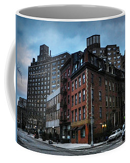 Coffee Mug featuring the photograph New York City - Greenwich Village 008 by Lance Vaughn