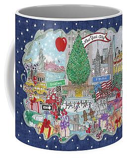New York City Holiday Coffee Mug
