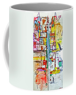 New York City Icons And Symbols Coffee Mug