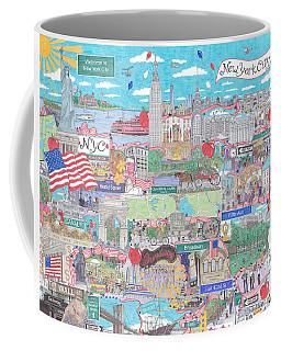 New York City On A Sunny Day Coffee Mug