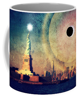 New York City Solar Eclipse 2017 II Coffee Mug