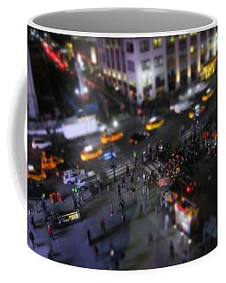 New York City Street Miniature Coffee Mug