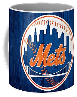 New York Mets Barn Door Coffee Mug