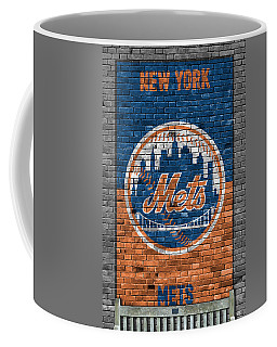 New York Mets Brick Wall Coffee Mug